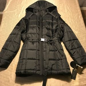 Baby Phat Quilted Winter Coat (3X) Black NWT NEW